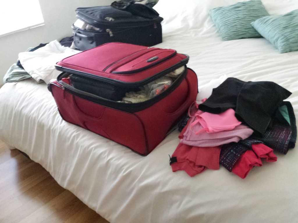 packing for china