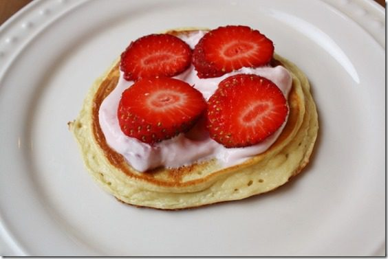 strawberry shortcake protien pancakes recipe gluten free