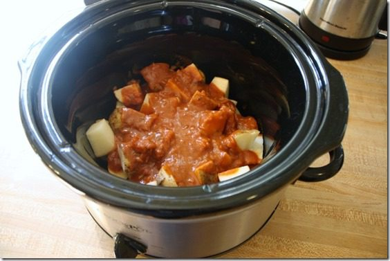 IMG 4482 800x533 thumb Easy Meatless Monday Recipe–Potato Masala CrockPot Simma