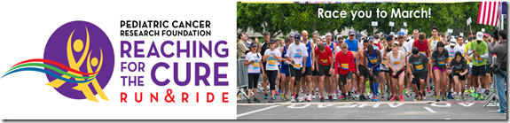 RaceyoutoMarch 1 thumb Pediatric Cancer Research Foundation Half Marathon, 10K or 5K Discount Code and Info