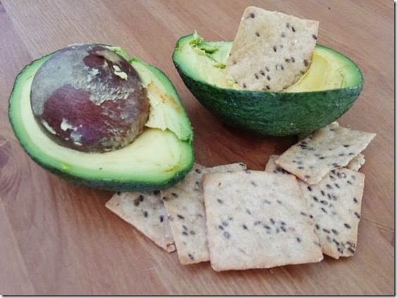 avocado and crackers what I ate wednesday 669x502 thumb What I'm Eating Wednesday National Drink Wine Day