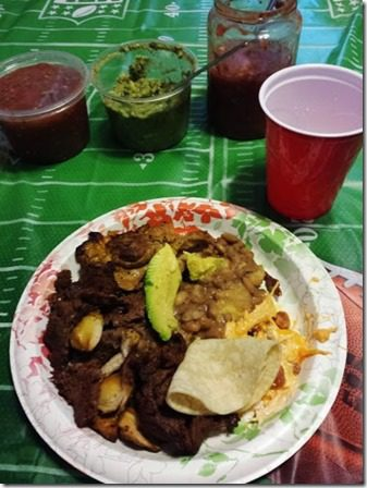 carne asada super bowl party 376x502 376x502 thumb Post Marathon Super Bowl Feast