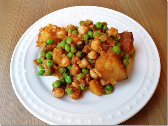 easy meatless monday recipe potato curry