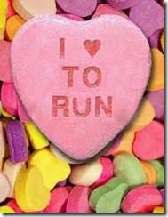 love to run valentine