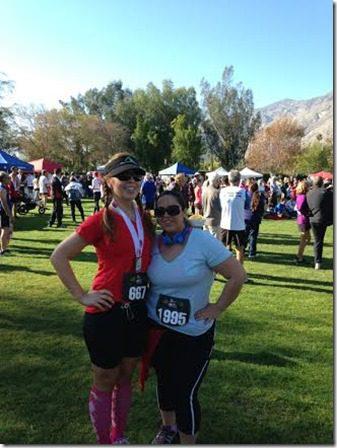 me and cindy palm springs half marathon (328x438)