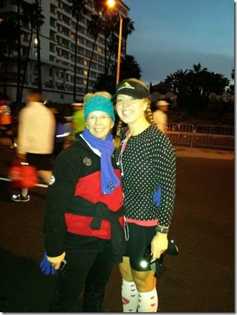 me and leann pre surf city marathon 376x502 thumb Surf City Marathon 2014 Results