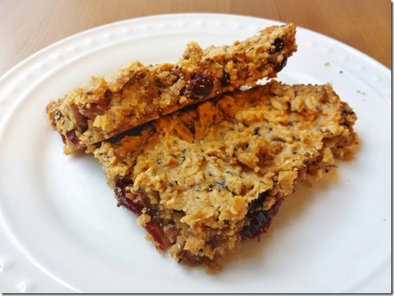 pre run apple chia bars 669x502 thumb Apple Oat Pre Workout Bars Recipe