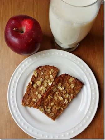 pre run granola bars with apple and chia 376x502 thumb Apple Oat Pre Workout Bars Recipe