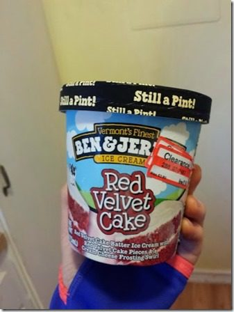 red velvet cake ice cream 376x502 thumb Confession Thursday… Trident Layers
