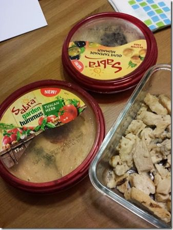 sabra hummus on chicken 409x545 thumb Super Sabra Delivery