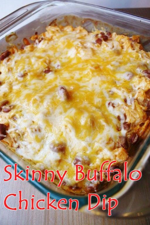 skinny buffalo chicken dip recipe