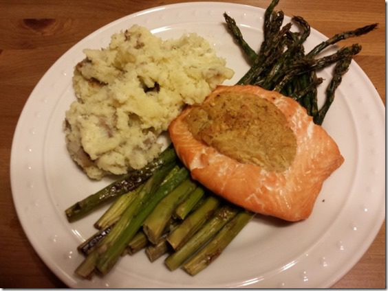 stuffed salmon for dinner 800x600 thumb How To Run With A Bloody Knee
