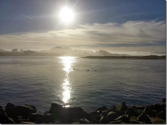 sun rise in morro bay travel blog california 669x502 thumb Morning Walk and Breakfast in Morro Bay