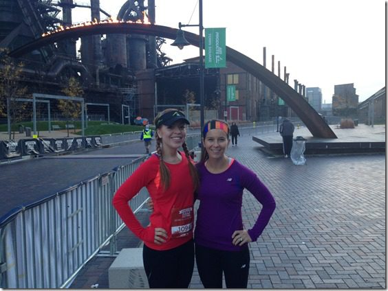 tina and monica before the 5k