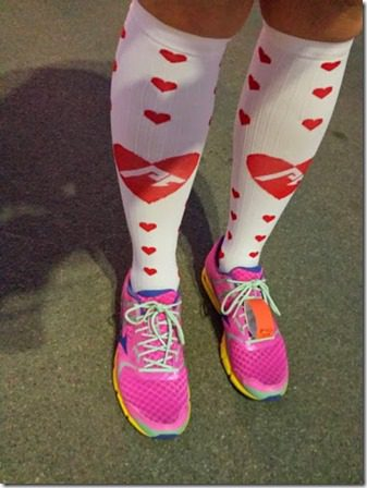 valentines day procompression socks at surf city marathon 376x502 thumb Surf City Marathon 2014 Results