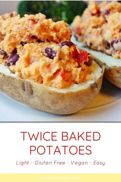twice baked potatoes with hummus recipe