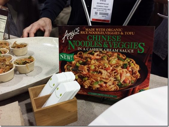amys best frozen meal 800x600 thumb Top Ten New Foods from the Natural Products Expo West