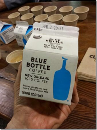 blue bottle coffee 409x545 409x545 thumb Top Ten New Foods from the Natural Products Expo West