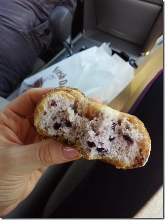 blueberry donut after marathon recap and results 600x800 thumb Catalina Marathon Recap Results Video and Tequila.
