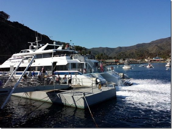 catalina express after catalina island marathon 800x600 thumb Catalina Marathon Recap Results Video and Tequila.