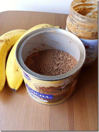 chocolate banana muffins gluten free recipe (376x502)