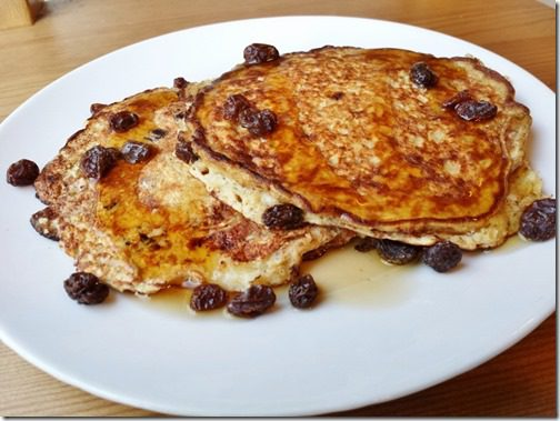 cinnamon raisin protein pancakes 800x600 800x600 thumb Fat Tuesday and National Pancake Day!