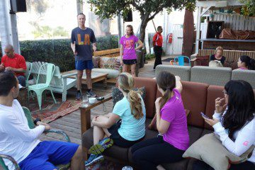 Last Minute Tips Before the LA Marathon from Coach Kastor, Ryan Hall and Deena Kastor