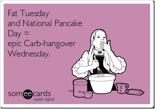fat tuesday and pancake day