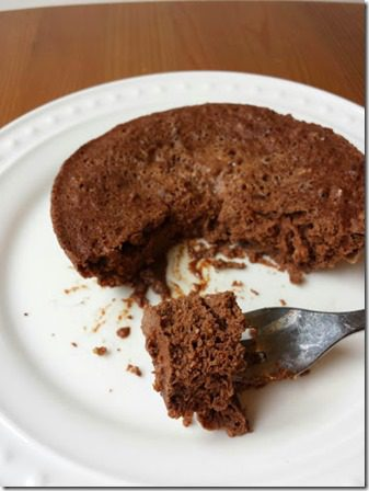 fudge protein cake recipe 376x502 thumb Fudge Protein Cake in Microwave Recipe
