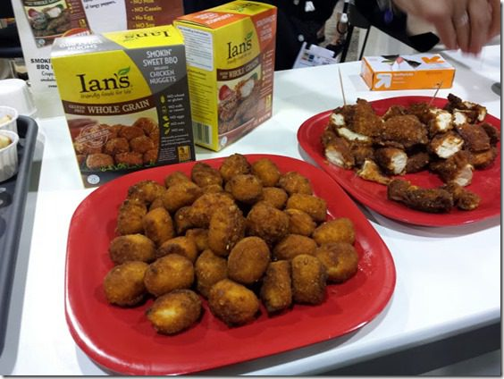 ians whole grain chicken nuggets 669x502 669x502 thumb Top Ten New Foods from the Natural Products Expo West
