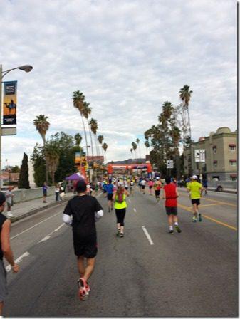la marathon mile 8 hollywood sign (600x800)