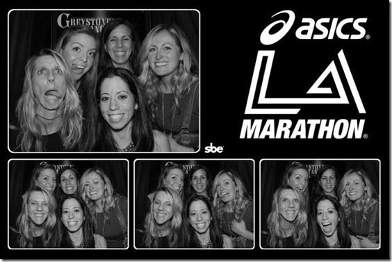 la marathon phoot booth 2