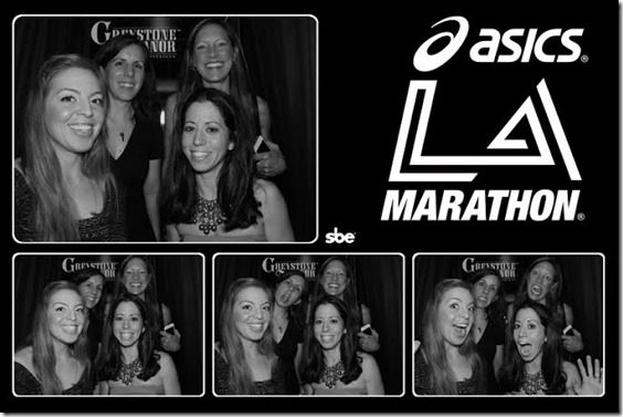 la marathon photo booth 1 thumb LA Marathon Outtakes and Asics Giveaway Winners