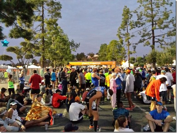 la marathon start line race 800x600 thumb LA Marathon and Carb Loading Mexican Style