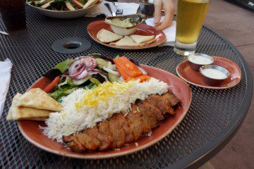 Dinner At Luna Grill