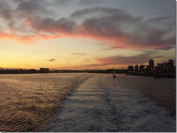 long beach pink sunset 800x600 thumb Catalina Marathon Results and Recap