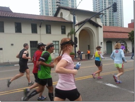 monica running rock n roll san diego marathon