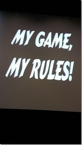 my game my rules 450x800 thumb Free Entry to chat with Boston Marathon Director Dave McGillivray