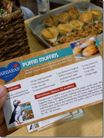 puffin muffins 409x545 409x545 thumb Top Ten New Foods from the Natural Products Expo West