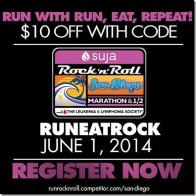 Rock N Roll San Diego Marathon / Half Discount Code And Epic Summer Run Tank GIVEAWAY