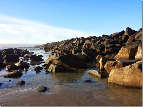 rocks in morro bay california travel blog 669x502 thumb Tips For Running in HOT Weather