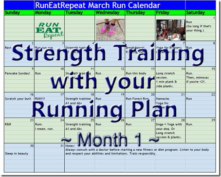 strength training for runners plan