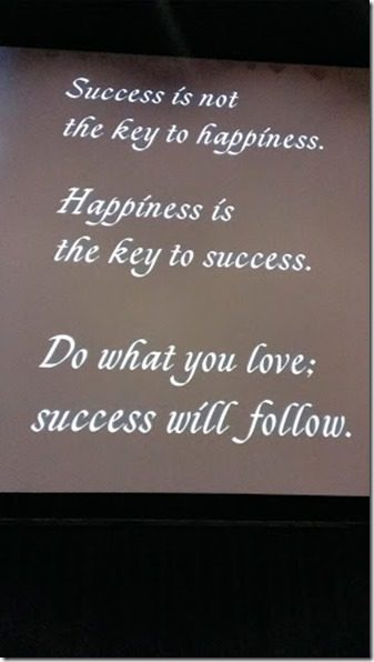 success quote from Dave McGillivray 287x510 thumb Free Entry to chat with Boston Marathon Director Dave McGillivray