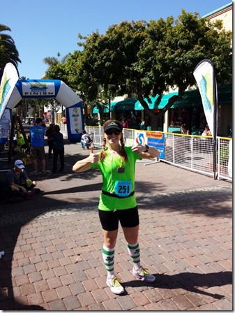 thumbs up catalina marathon 600x800 thumb Catalina Marathon Results and Recap