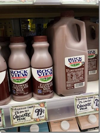 top 10 trader joes must haves for runners chocolate milk (600x800)