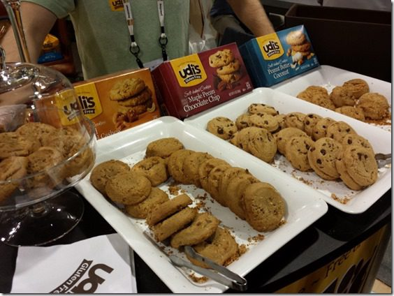 udis gluten free cookies 800x600 thumb Top Ten New Foods from the Natural Products Expo West