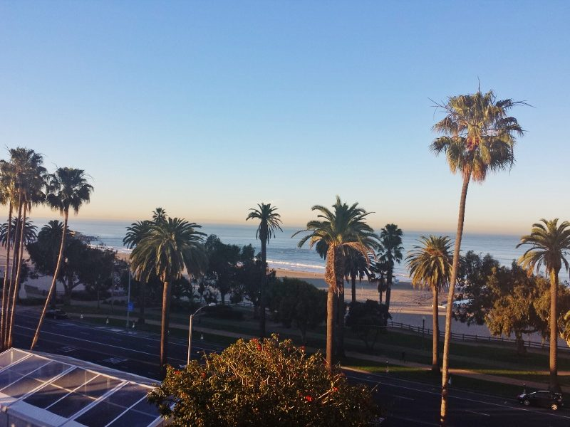 view from room in santa monica 800x600 Last Minute Tips Before the LA Marathon from Coach Kastor, Ryan Hall and Deena Kastor