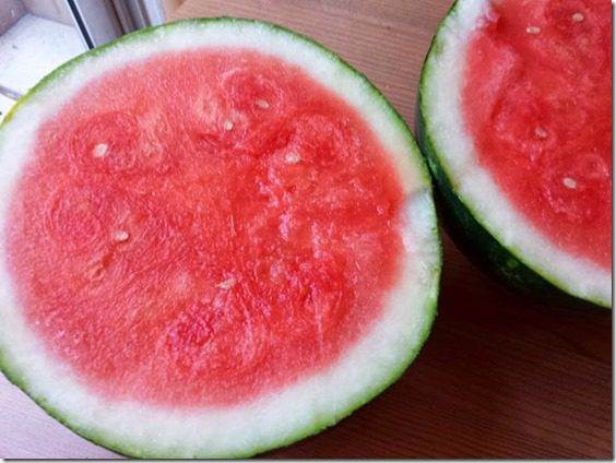 watermelon for me 727x545 thumb 10 Things You Must Eat Before The Marathon Or the Sky Will Fall! That, or my own Pre Race Diet…