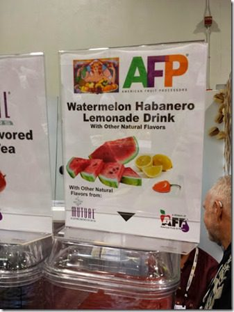 watermelon habenero drink 376x502 376x502 thumb Top Ten New Foods from the Natural Products Expo West