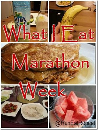 what to eat during marathon training